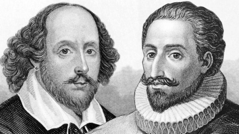 Shakespeare i Cervantes